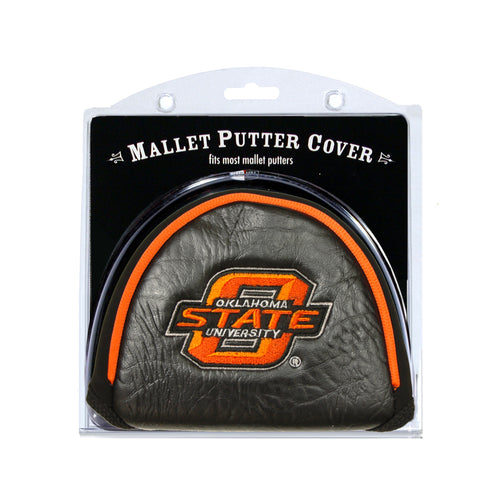 Oklahoma State University Mallet Putter Cover
