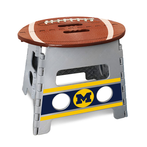 University of Michigan Football Step Stool