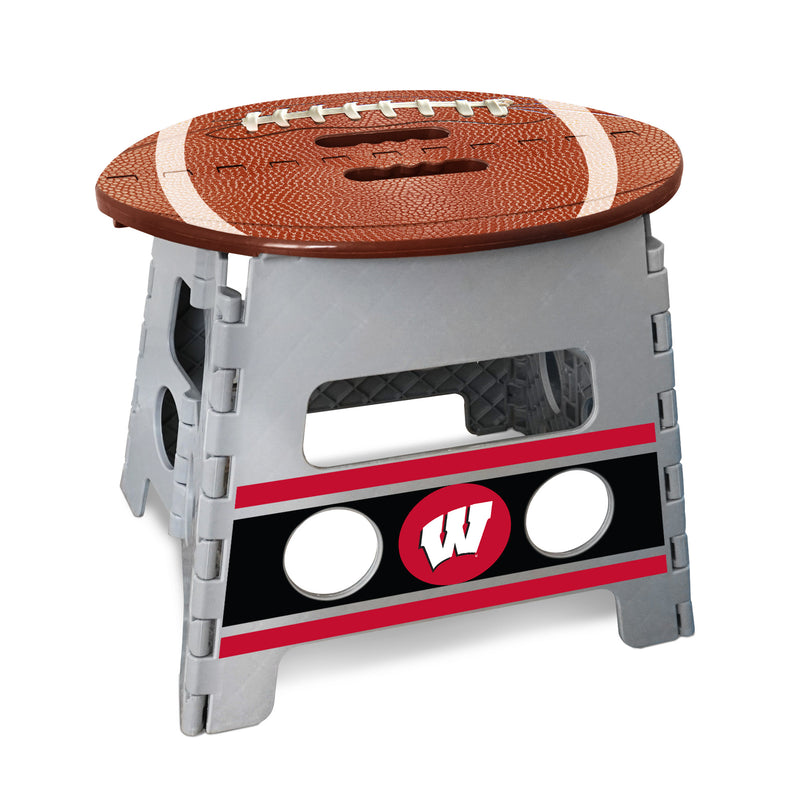 University of Wisconsin Football Step Stool