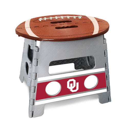 University of Oklahoma Football Step Stool