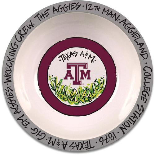 Texas A&M University Melamine Bowl