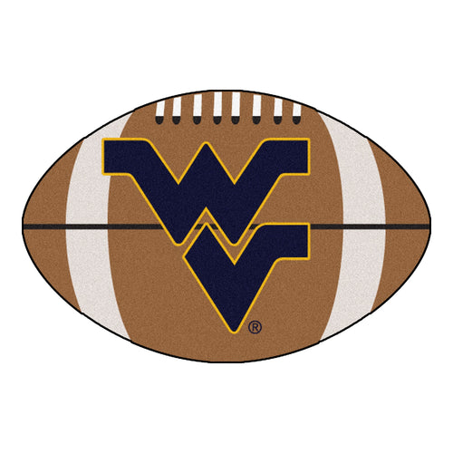West Virginia University Football Area Rug