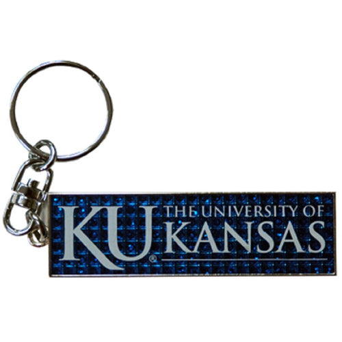 University of Kansas Emblem Keychain