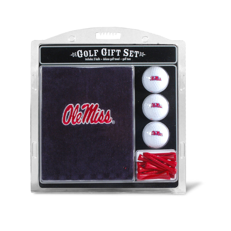 University of Mississippi Embroidered Towel Gift Set