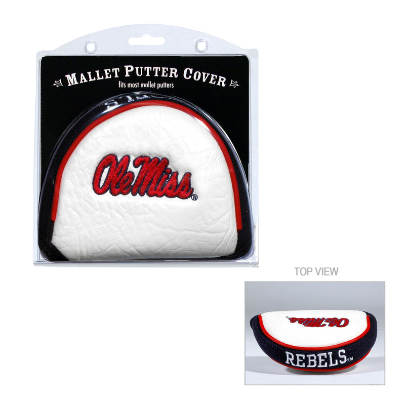 University of Mississippi Mallet Putter Cover