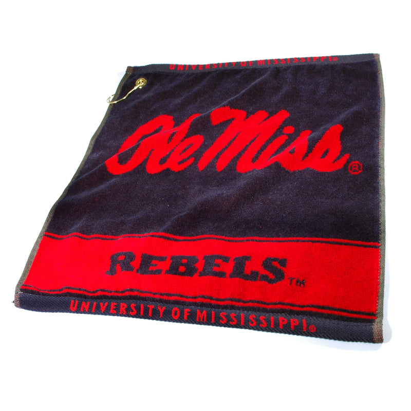 University of Mississippi Woven Golf Towel