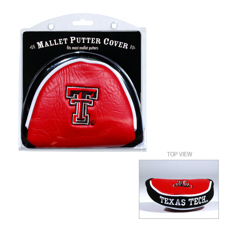 Texas Tech University Mallet Putter Cover