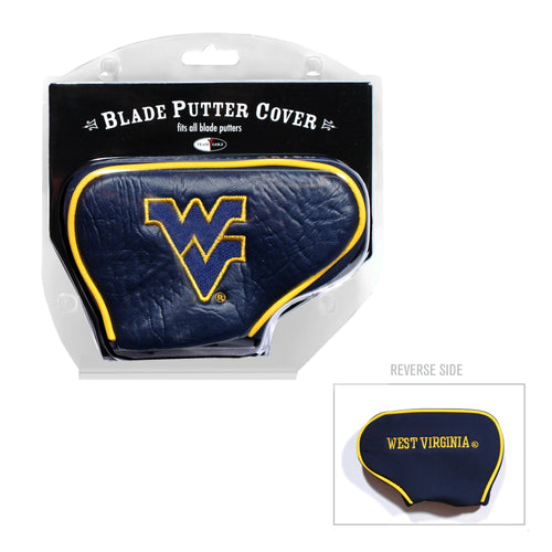 West Virginia University Blade Putter Cover