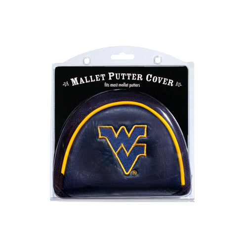 West Virginia University Mallet Putter Cover