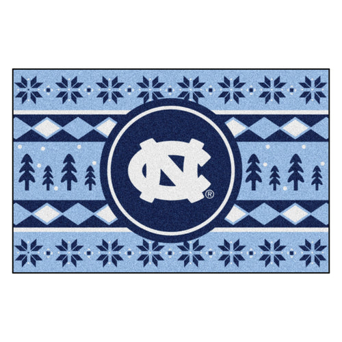 University of North Carolina Holiday Sweater Rug