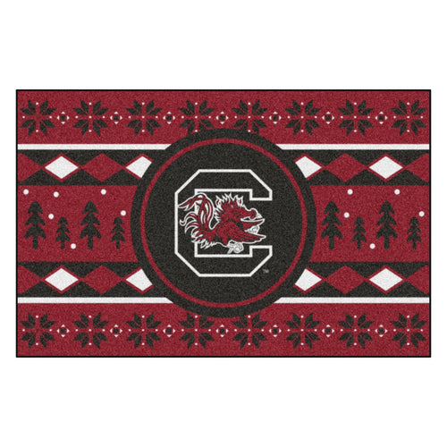 University of South Carolina Holiday Sweater Rug
