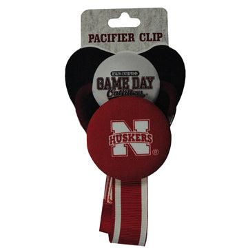 University of Nebraska Pacifier Clip
