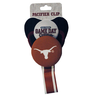 University of Texas Pacifier Clip
