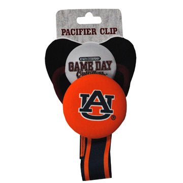 Auburn University Pacifier Clip