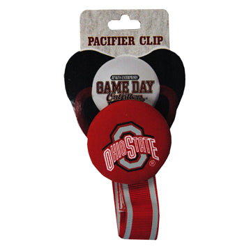 Ohio State University Pacifier Clip