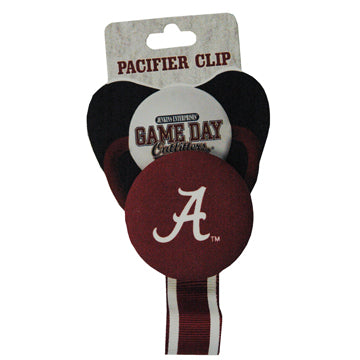 University of Alabama Pacifier Clip