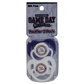 Louisiana State University Pacifier Pack