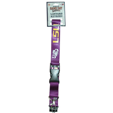Louisiana State University Keychain Lanyard