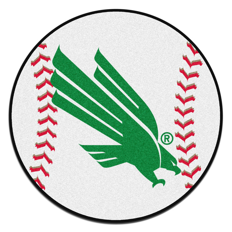 University of North Texas Baseball Area Rug