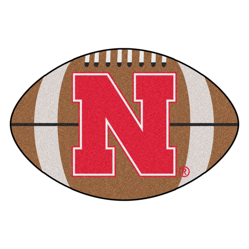 University of Nebraska Football Area Rug