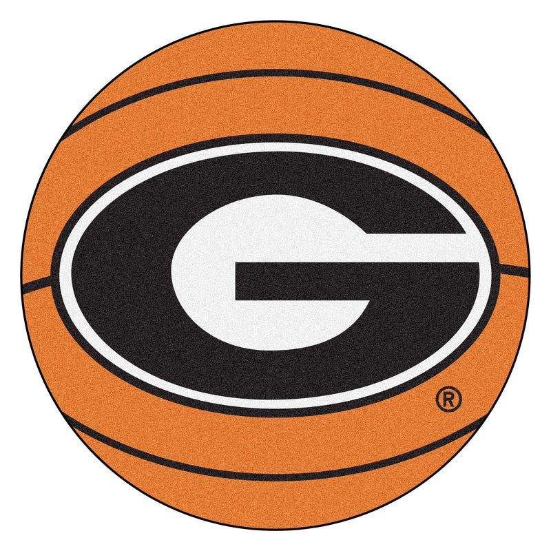 University of Georgia Basketball Area Rug