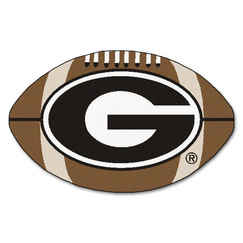 University of Georgia Football Area Rug