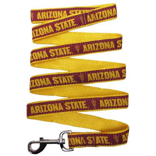 Arizona State University Nylon Ribbon Dog Leash