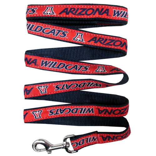 University of Arizona Nylon Ribbon Dog Leash