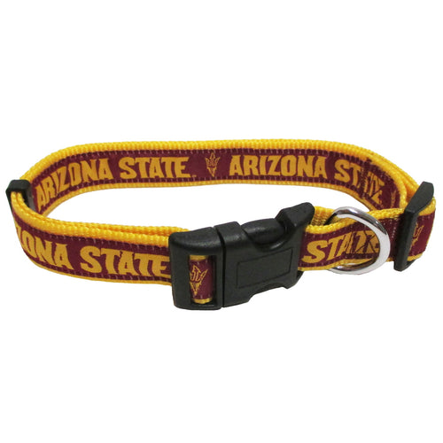 Arizona State University Nylon Adjustable Dog Collar