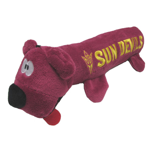 Arizona State University Bear Tube Dog Toy