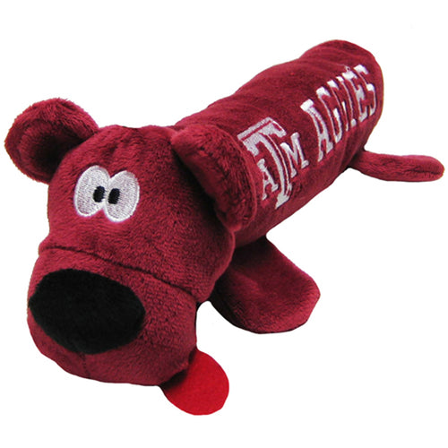 Texas Tech University Bear Tube Dog Toy