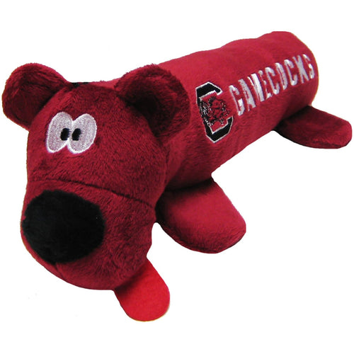 University of South Carolina Bear Tube Dog Toy