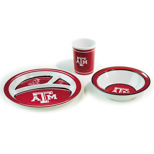 Texas A&M University Kid's Dish Set