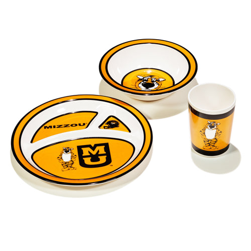 University of Missouri Kid's Dish Set