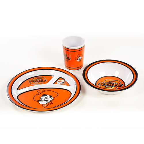 Oklahoma State University Kid's Dish Set
