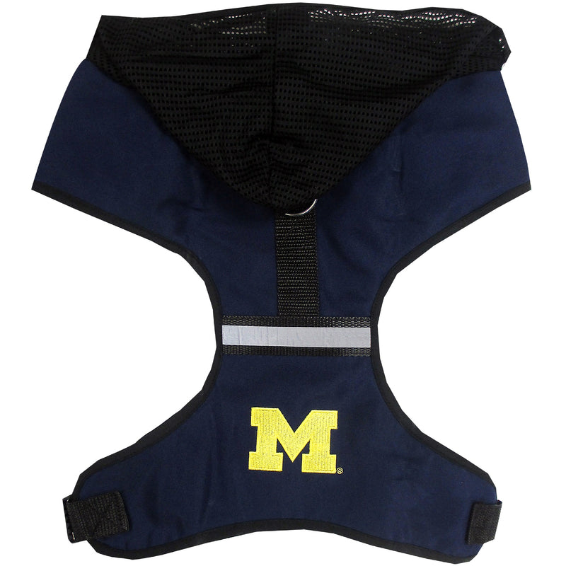 University of Michigan Dog Hoodie Harness
