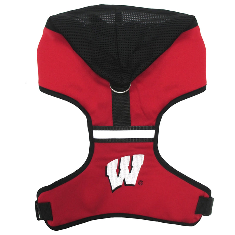 University of Wisconsin Dog Hoodie Harness