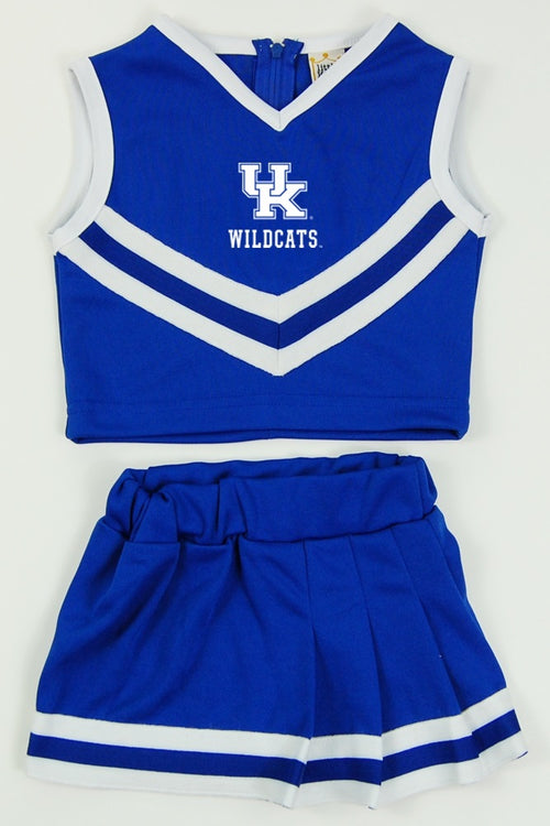 University of Kentucky Toddler Cheerleader Outfit