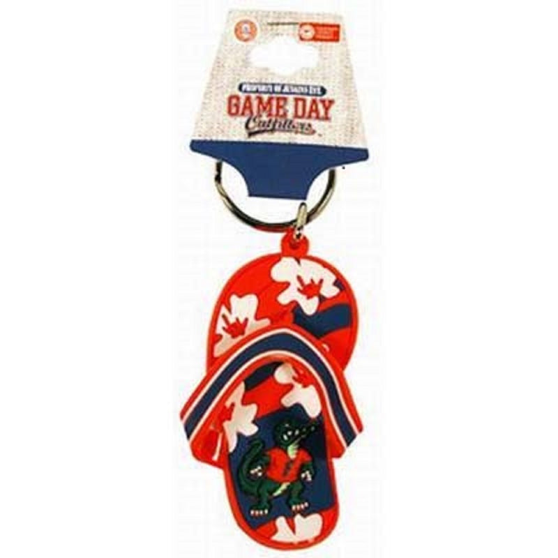 University of Florida Flip Flop Keychain