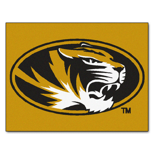 University of Missouri Logo Area Rug