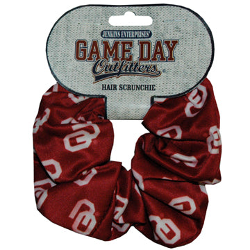 University of Oklahoma Hair Scrunchie