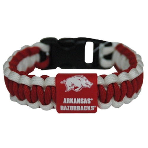 University of Arkansas Rope Bracelet