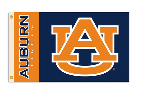 Auburn University Interlock Logo Flag