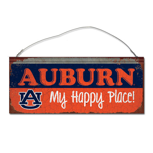 Auburn University Happy Place Sign