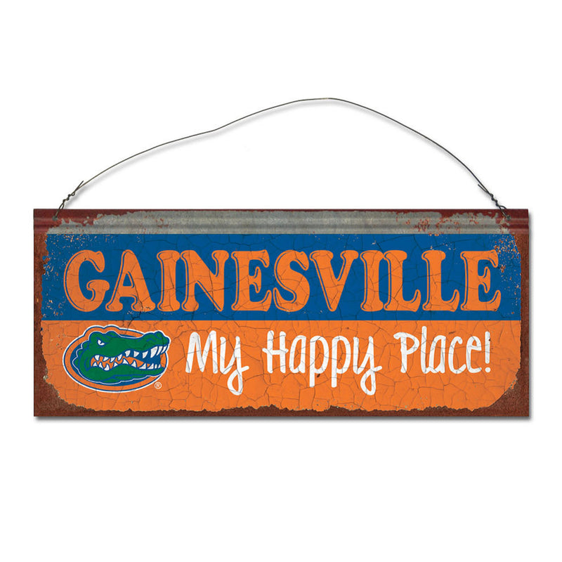University of Florida Happy Place Sign