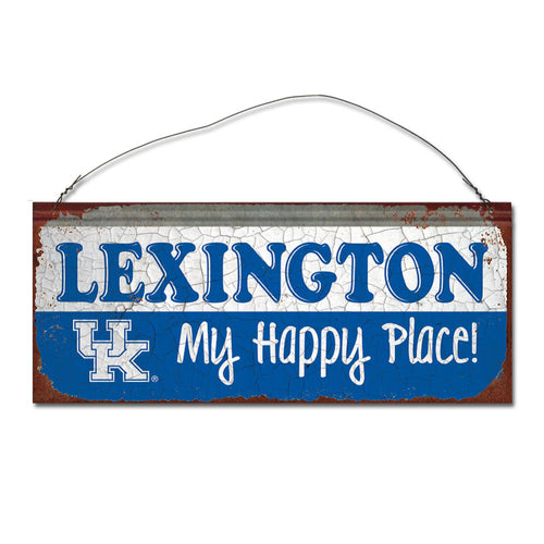 University of Kentucky Happy Place Sign