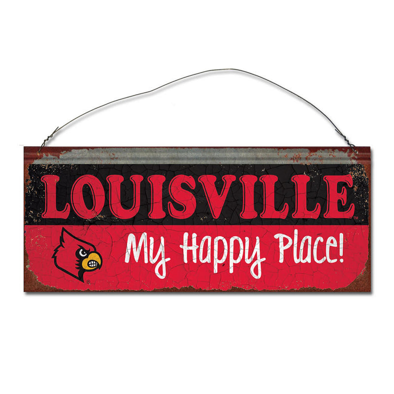 University of Louisville Happy Place Sign