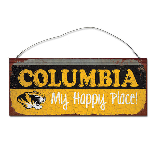 University of Missouri Happy Place Sign