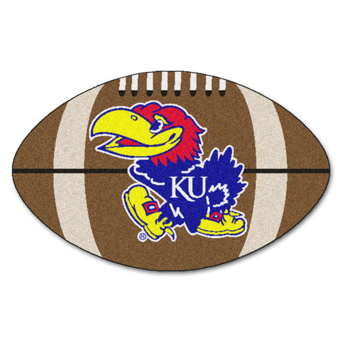 University of Kansas Football Area Rug