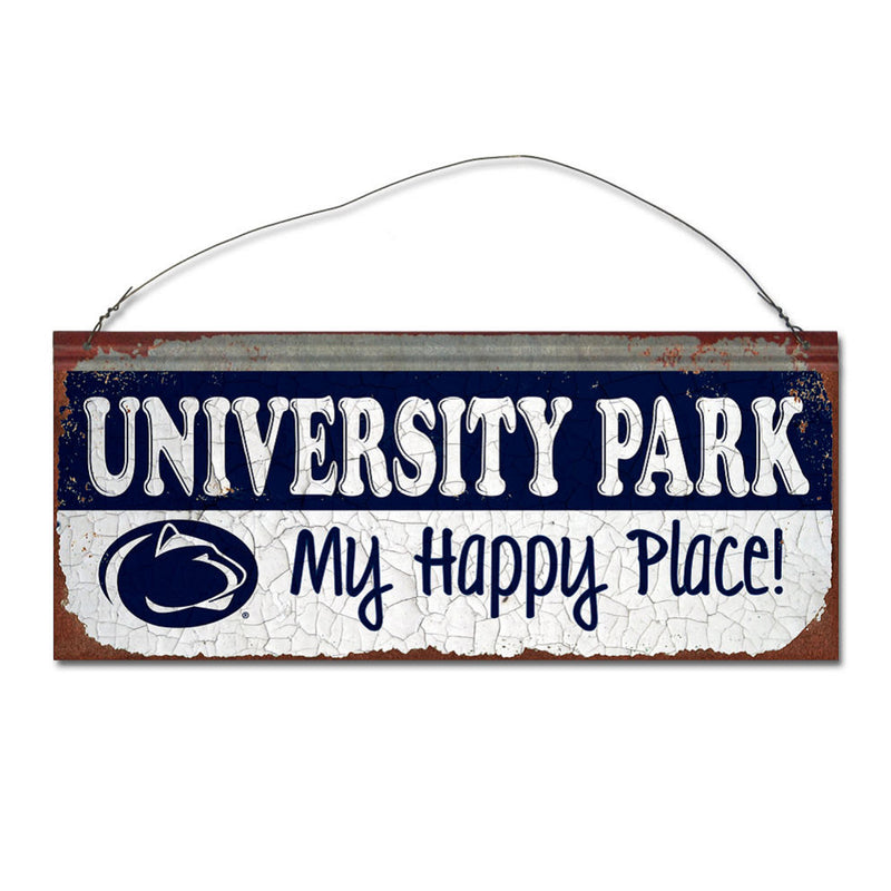 Penn State University Happy Place Sign